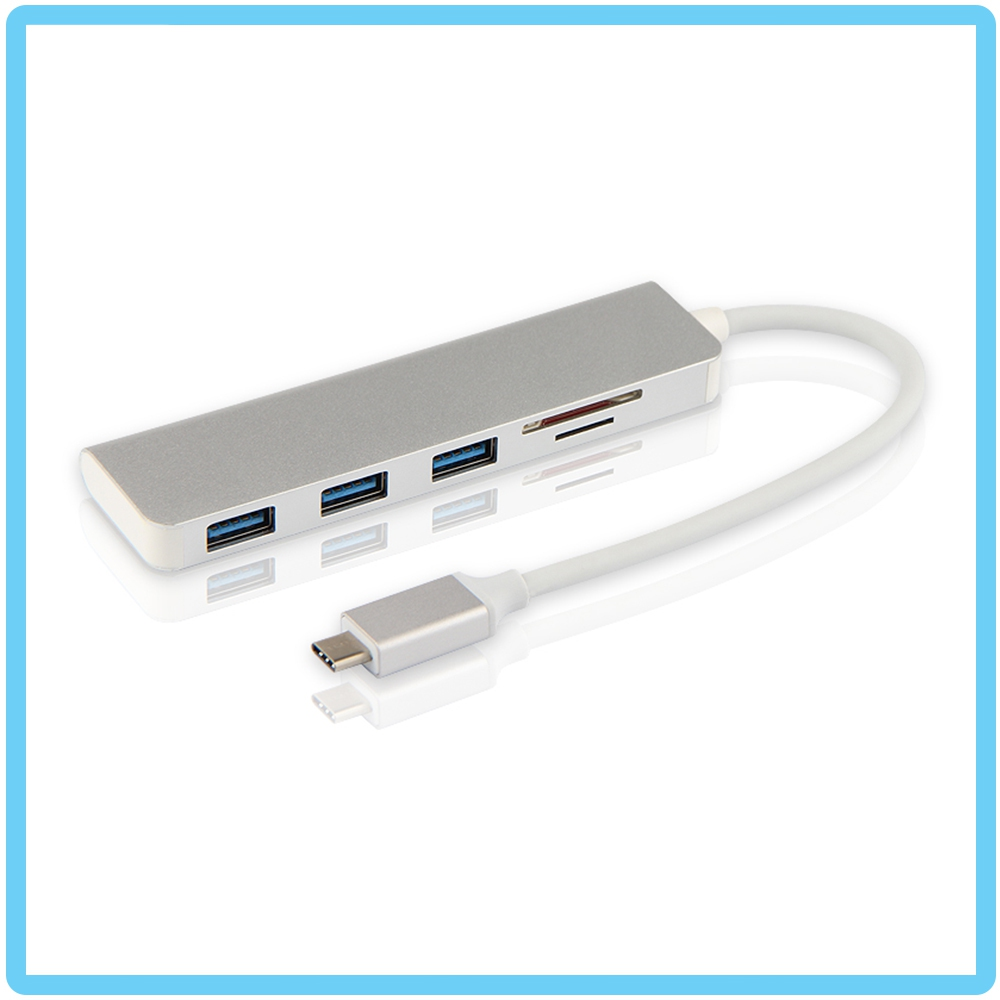 VITAR Type-C to USB Hub & SD/ TF Card Reader 5 in 1