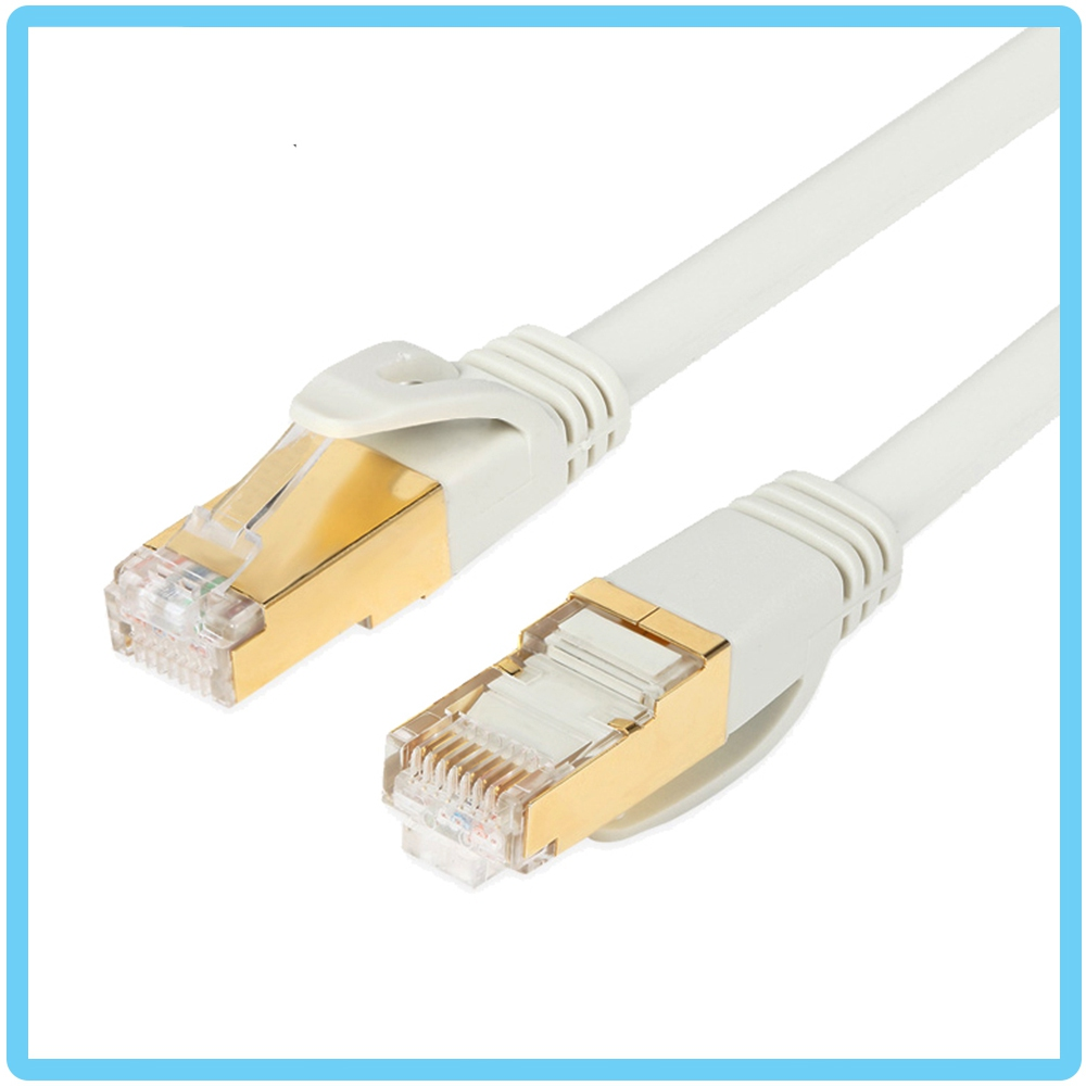 SAROWIN HIGH PERFORMANCE CAT7 NETWORK CABLE SOLID PURE COPPER