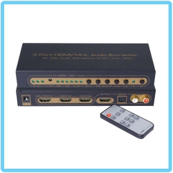 SAROWIN HDSW0003M1 HDMI 3x1 Switcher + Audio (SPDIF + L/R)
